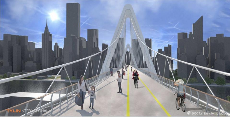 Queens Ribbon bridge