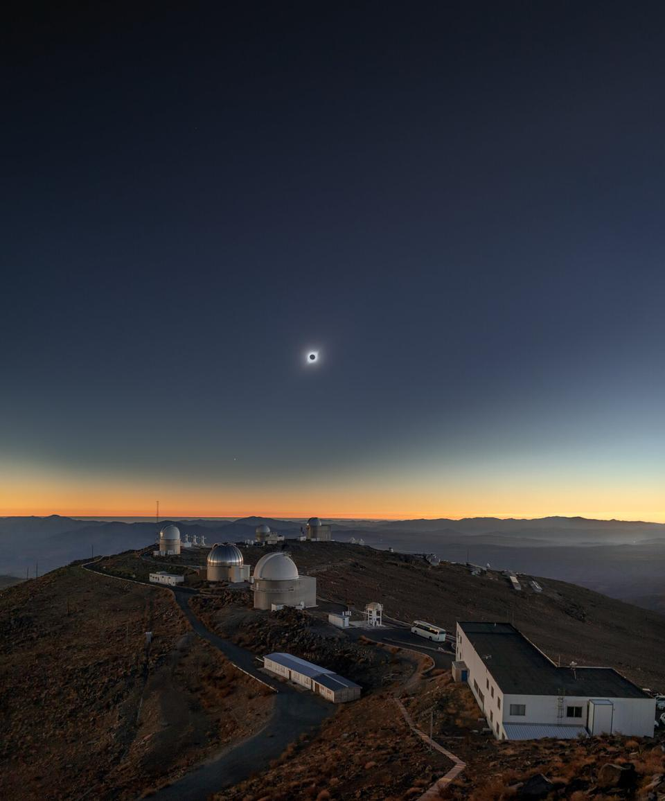 It's been almost a year since a total solar eclipse at ESO's La Silla Observatory.