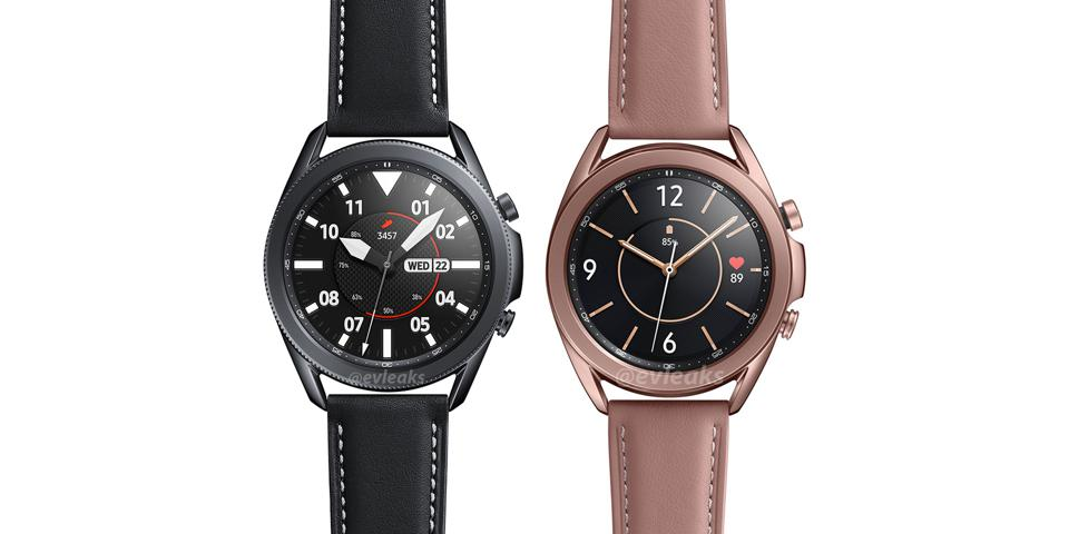 Samsung Galaxy Watch3 - does this render contain the details of the launch?