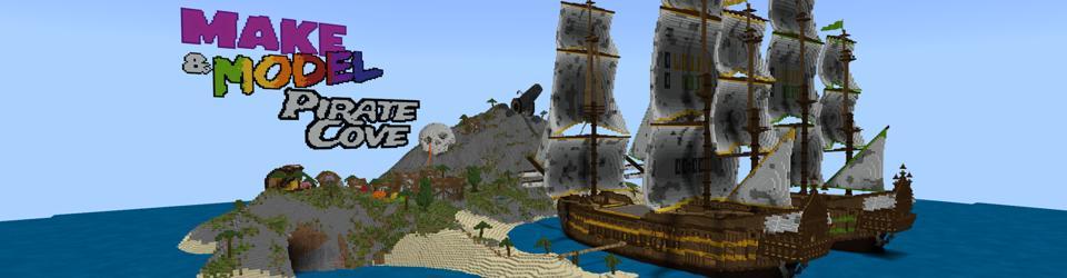 Minecraft Educator Edition Pirate Cove Make and Model homescreen
