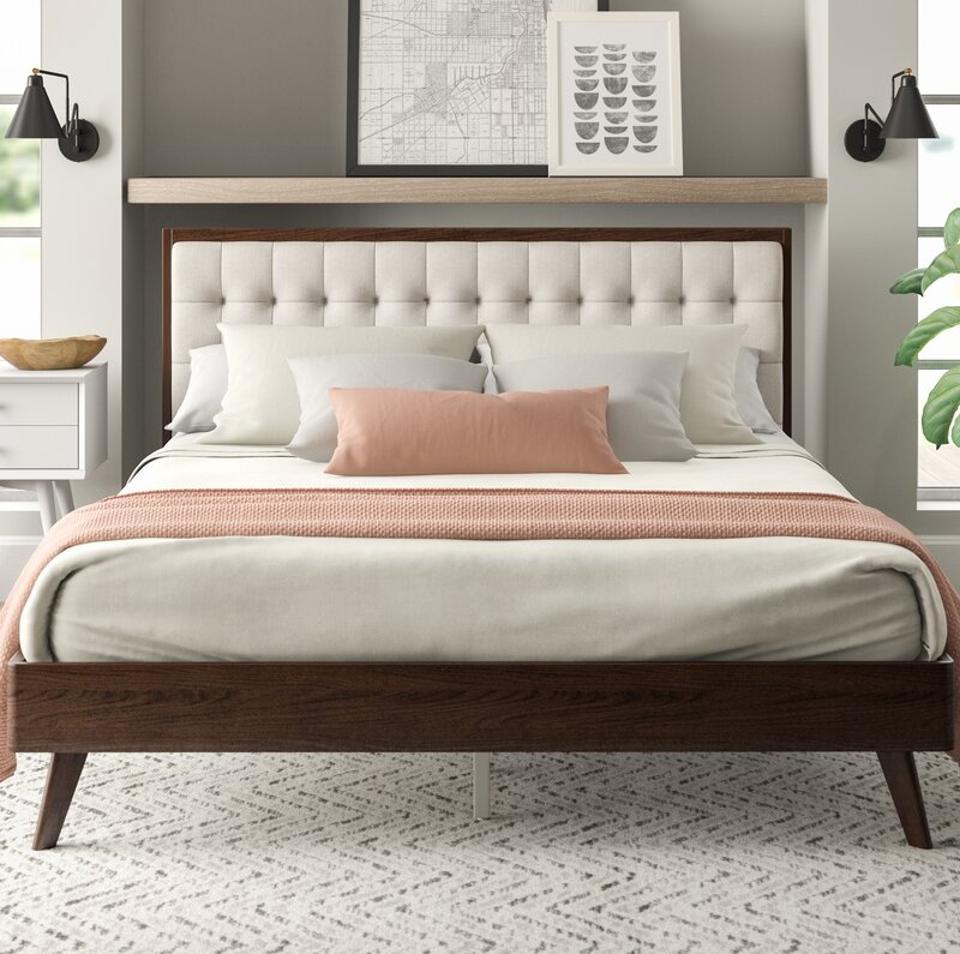 AllModern Wendy Upholstered Platform Bed
