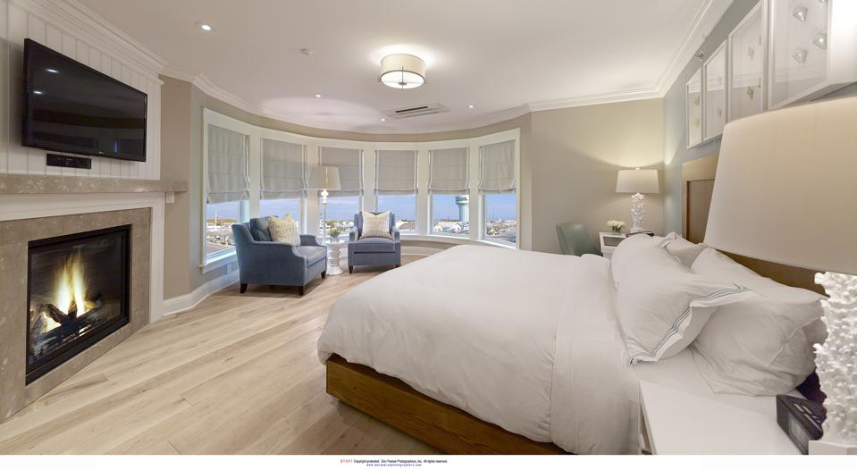 A guest room at The Reeds