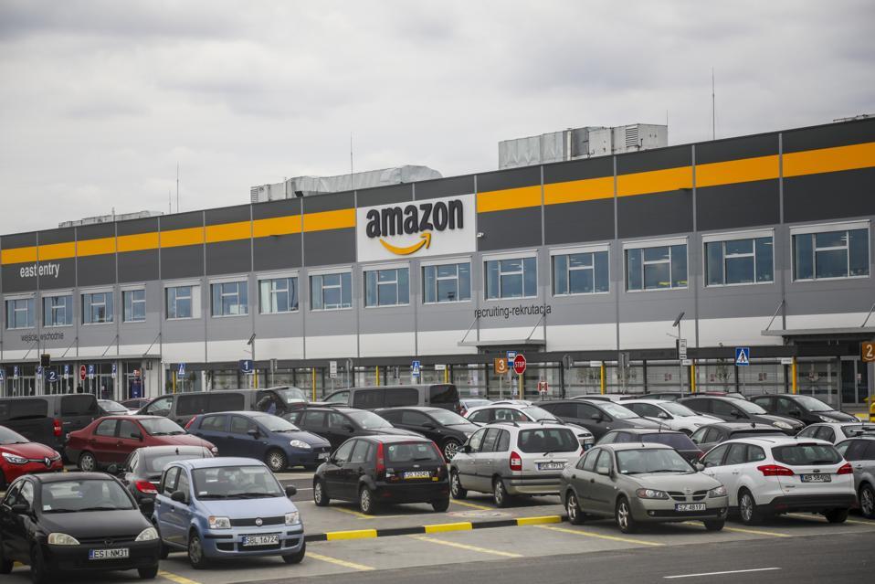 Amazon Fulfilment Center In Sosnowiec