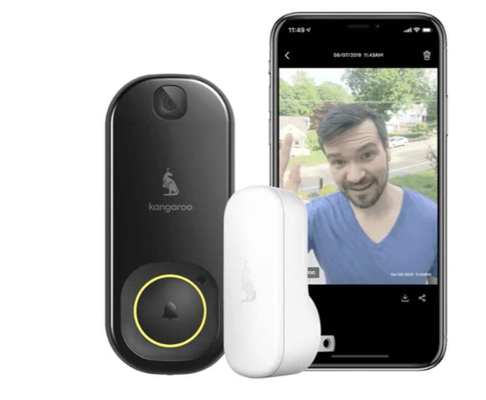 Kangaroo's Doorbell Camera + Chime