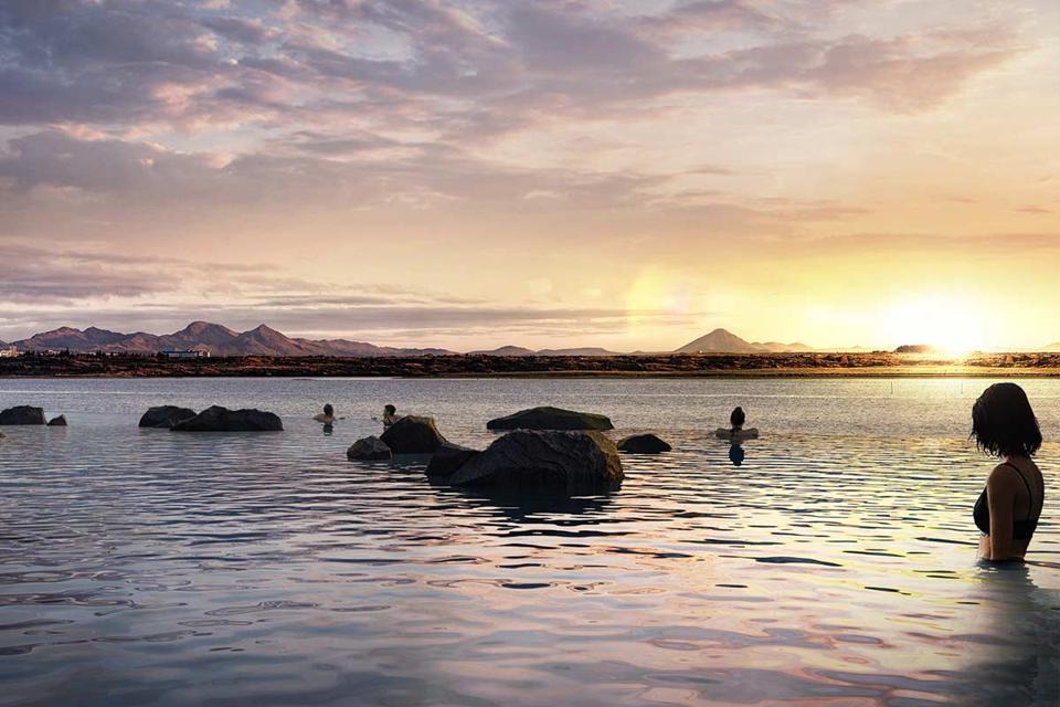 Sky Lagoon Iceland travel