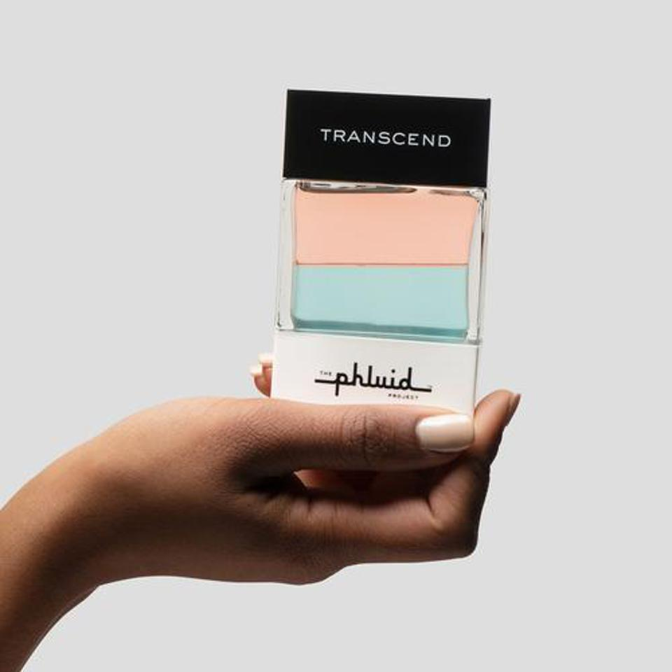 The Phluid Project's Transcend scent is a finalist in the 2020 Fragrance Foundation's annual awards.