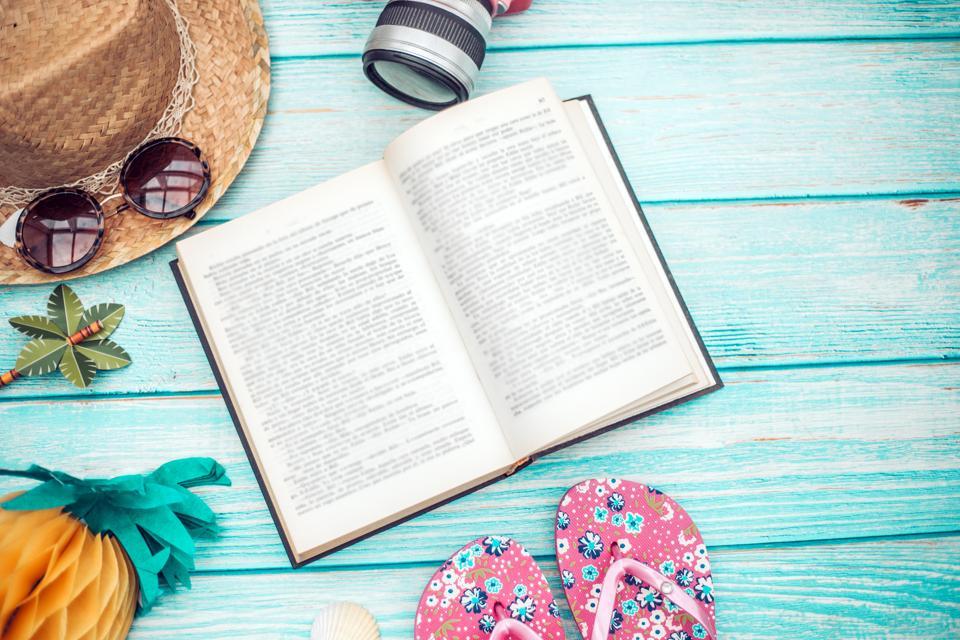 CFOs read on vacation.