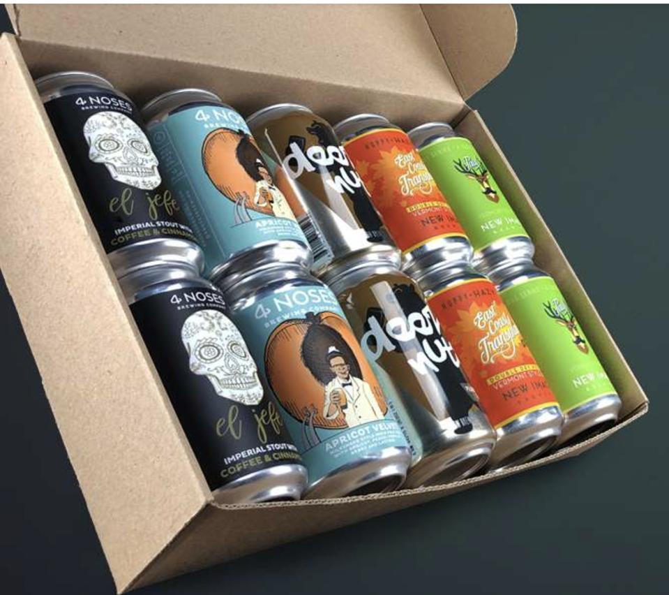 Beer Drop box of beers