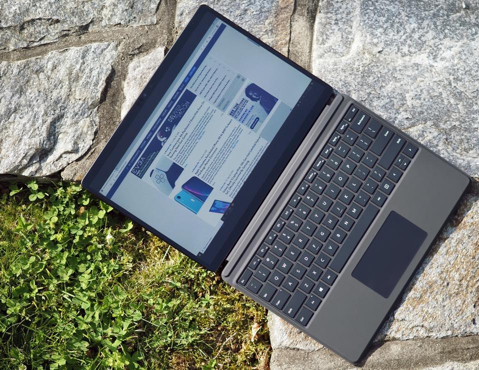 Microsoft's Surface Pro X.