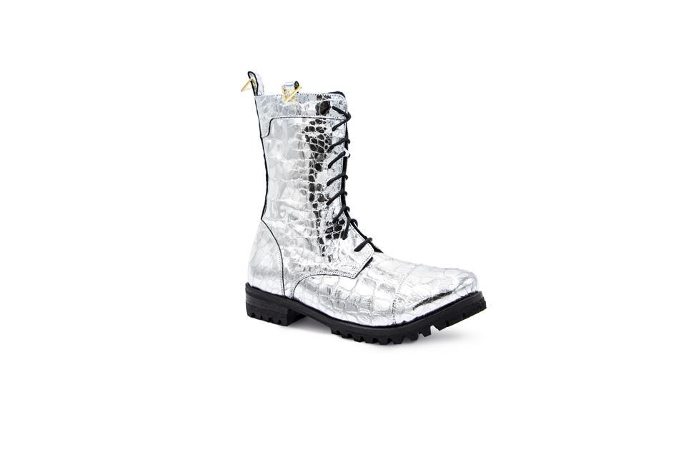 Dunkerke Silver Boots