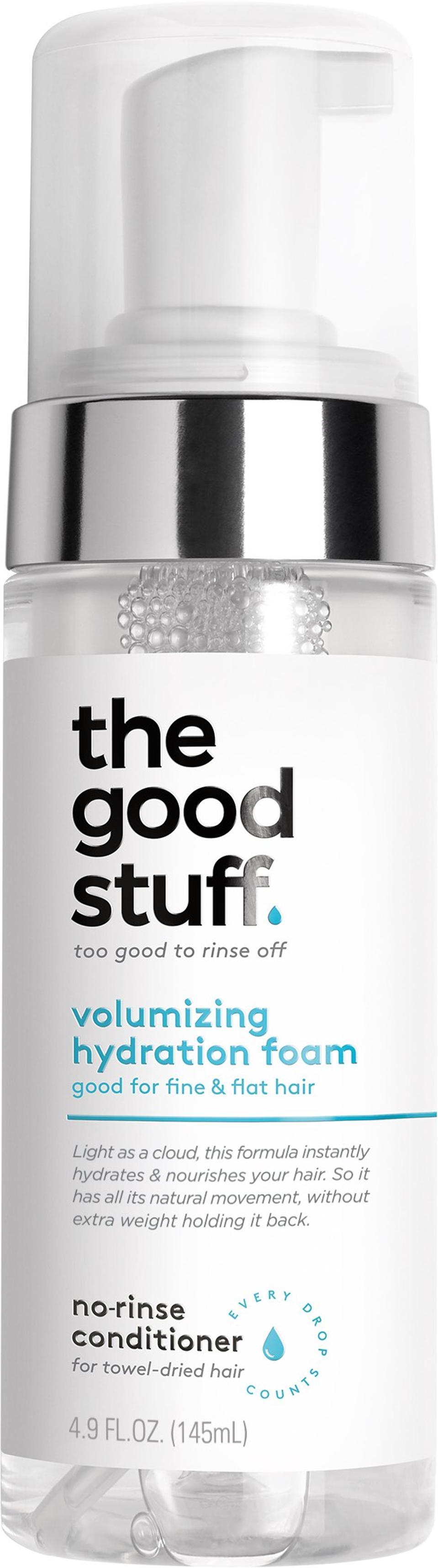 The Good Stuff Volumizing Hydration Foam