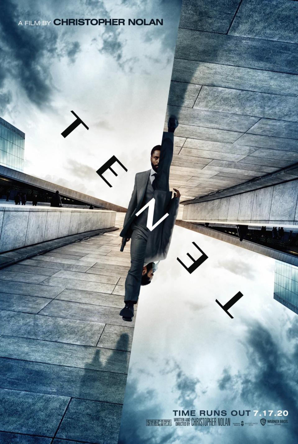 Official poster for Warner's ″Tenet″
