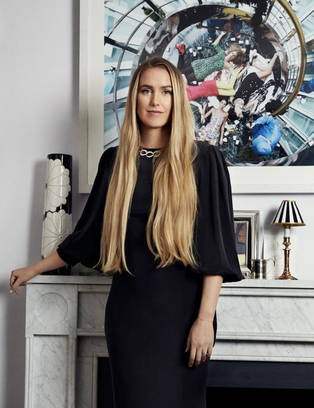 Olivia von Halle, pajamas, designer