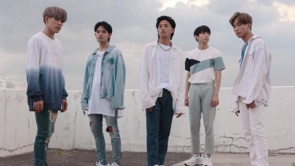 Members of Filipino boy band SB19