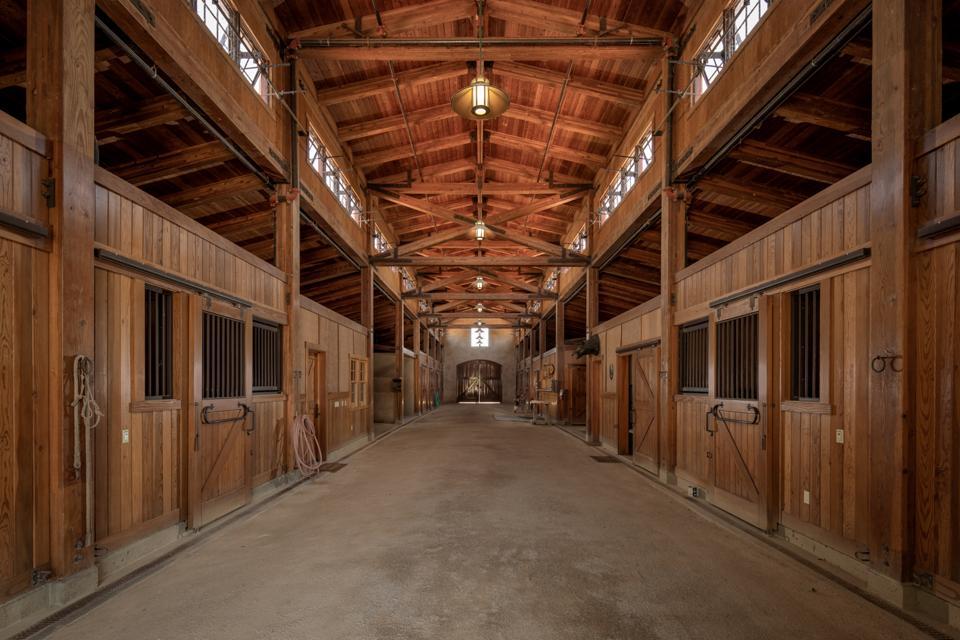 Rancho Latigo, Santa Ynez Valley, California, Compass, barn, stable, equestrian, horse
