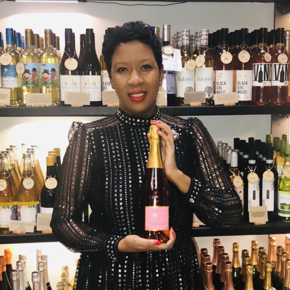 Marvina Robinson, Owner, Stuyvesant Champagne