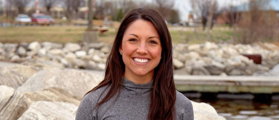 Fitness instructor Maggie Binkley