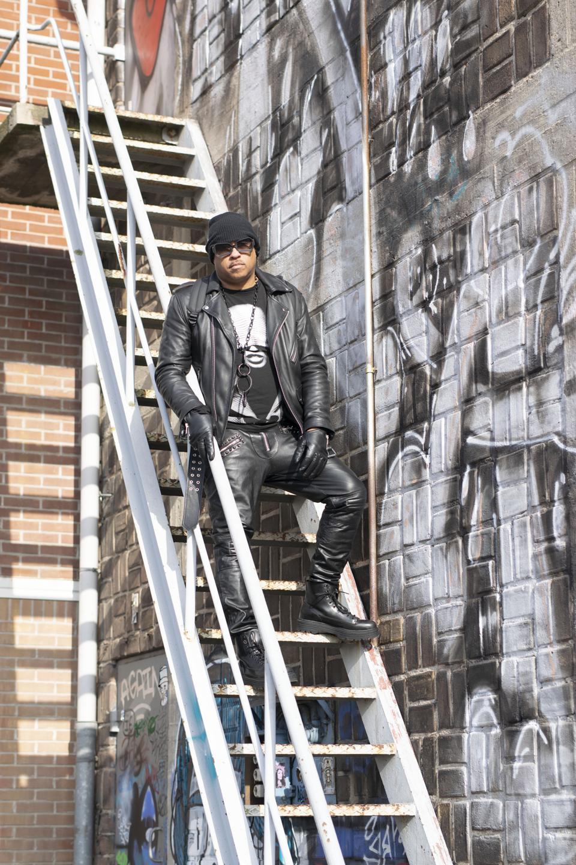 Luxury leather designer Michael Lombard
