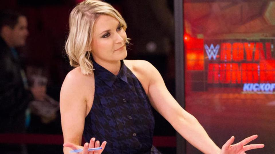 Renee Young confirmed she tested positive for COVID-19 last week.