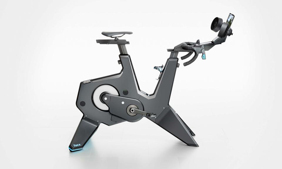 A promotional image of the Tacx Neo Bike Smart.