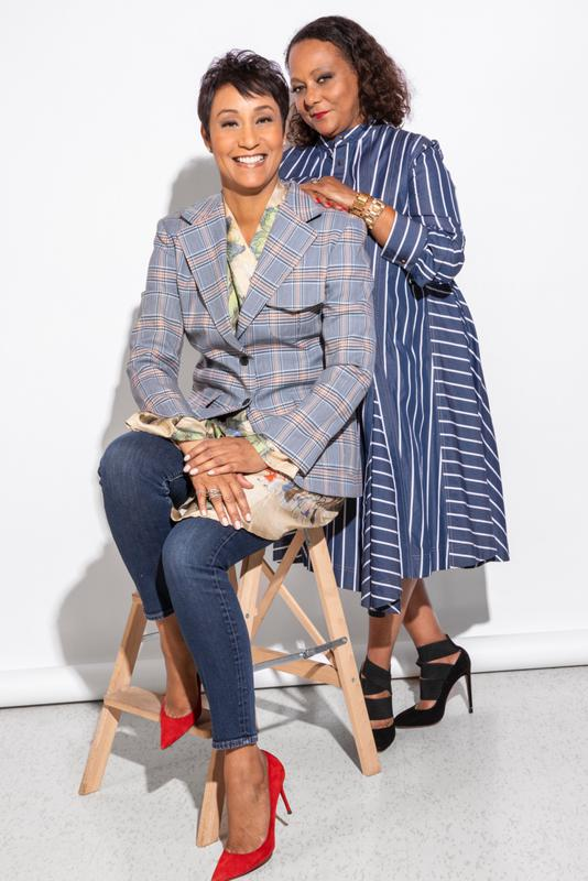 CEO Desiree Rogers, and COO, Cheryl Mayberry- McKissack