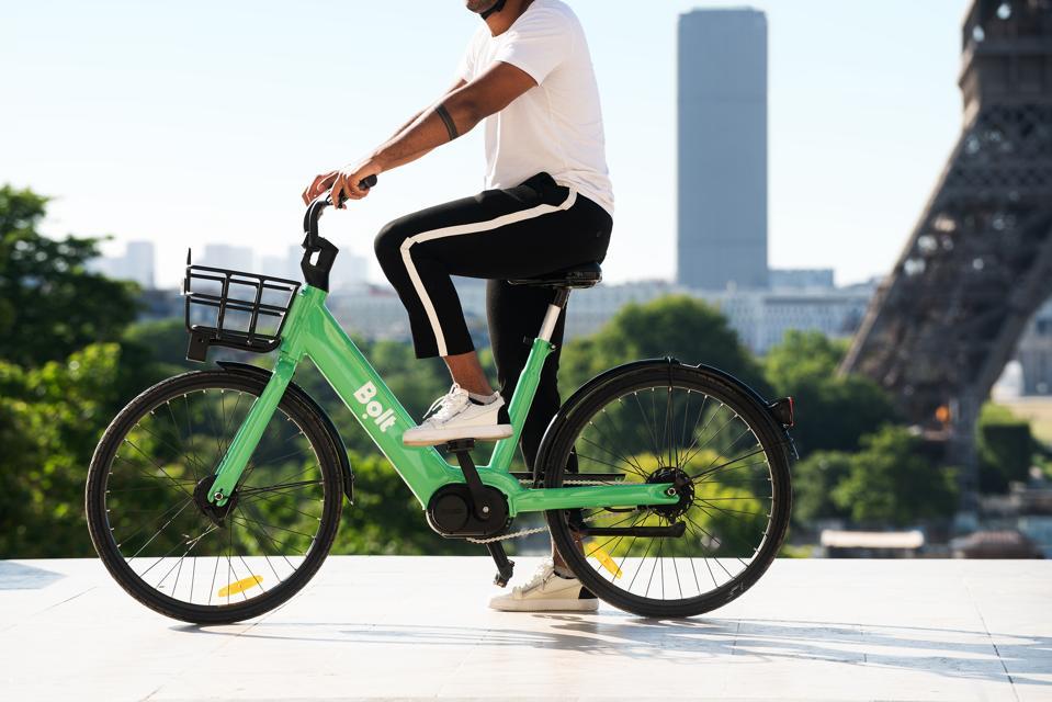 Bolt's electric bike