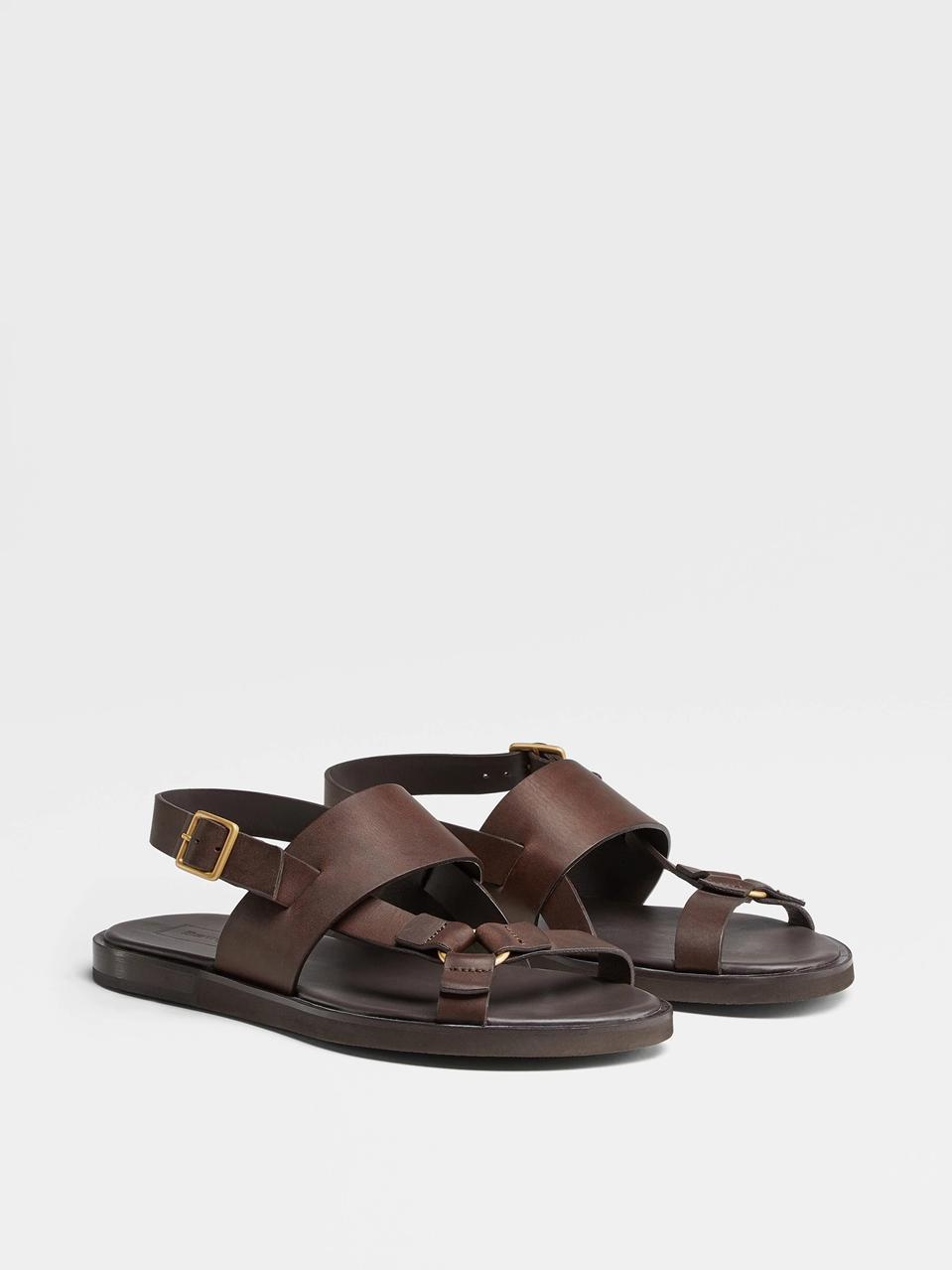 Ermenegildo Zegna Calfskin Sandals