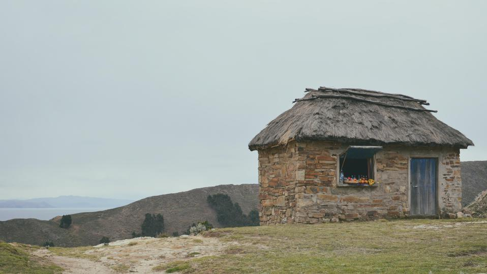 The future of travel is isolationist - a remote hut on a hill