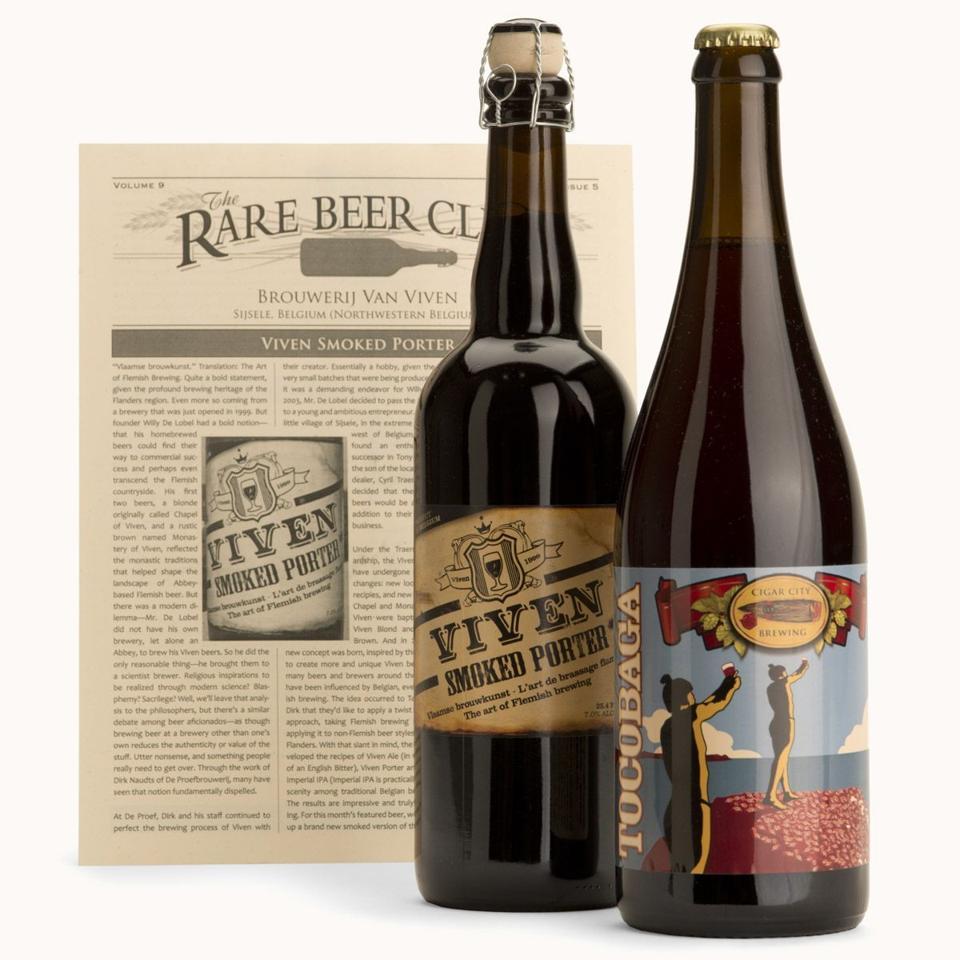 Rare Beer Club bottles