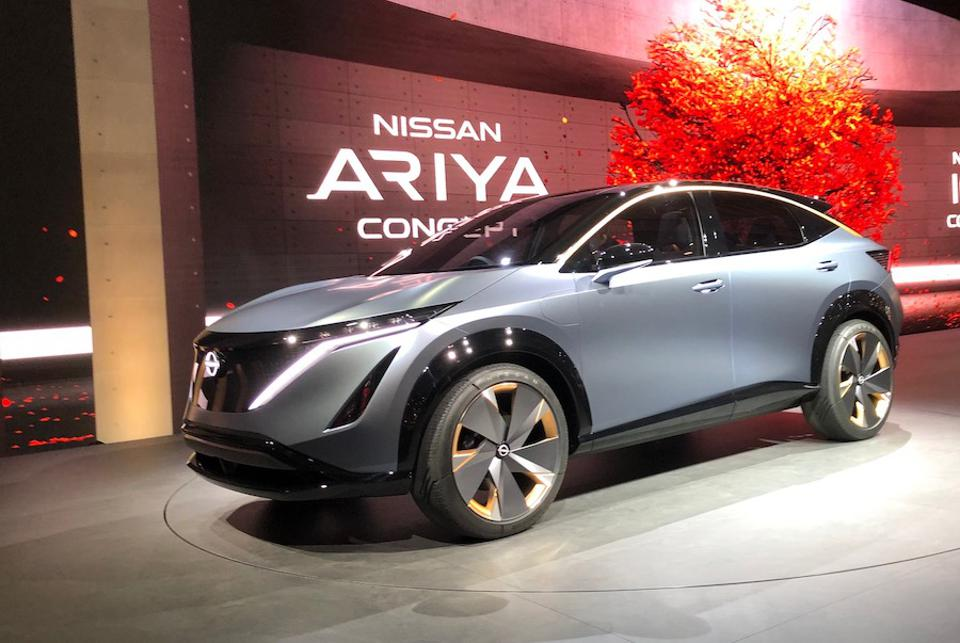 The Nissan Ariya will go on sale in early 2021.