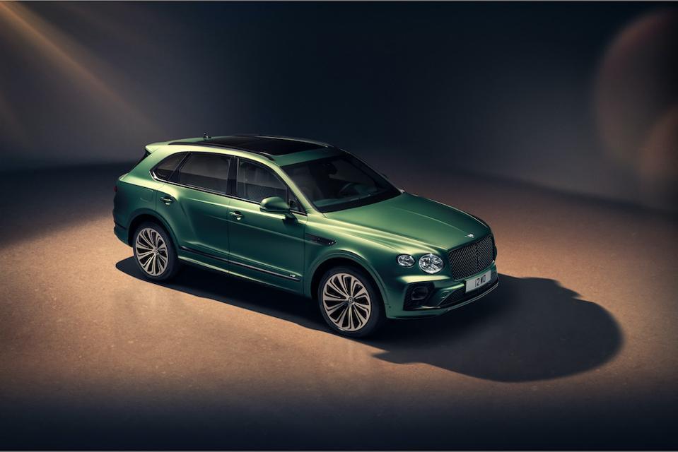 New Bentley Bentayga in Alpine Green