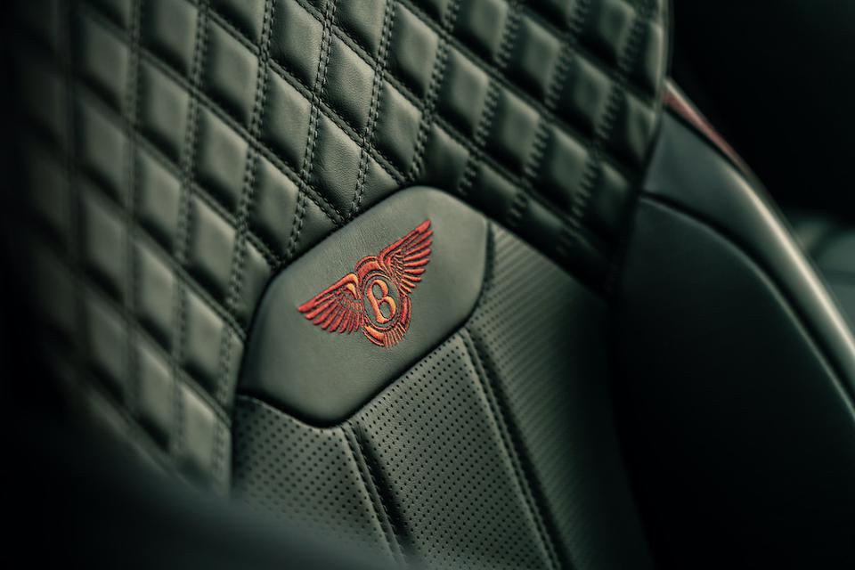 Bentley Bentayga features hand-stitched quilted leather on the newly designed seats