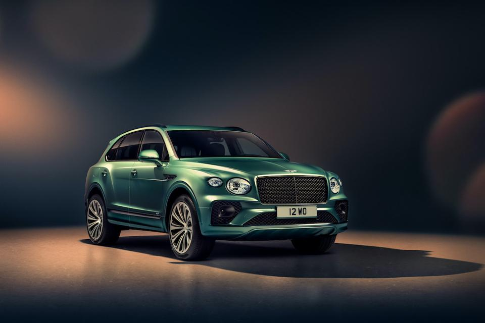The new Bentley Bentayga is available to order now