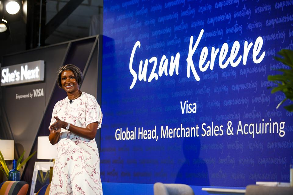 Suzan Kereere, global head, merchant sales and acquiring, for Visa
