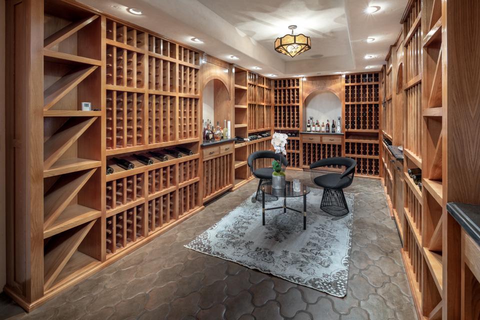Rancho Latigo, Santa Ynez, California, wine cellar, bar, lounge