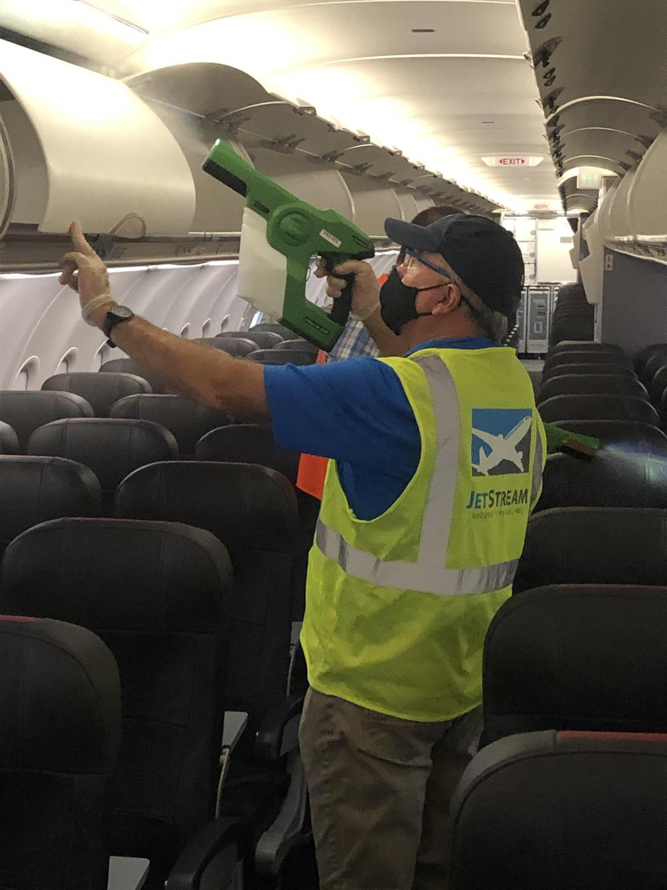 aircraft cleaner