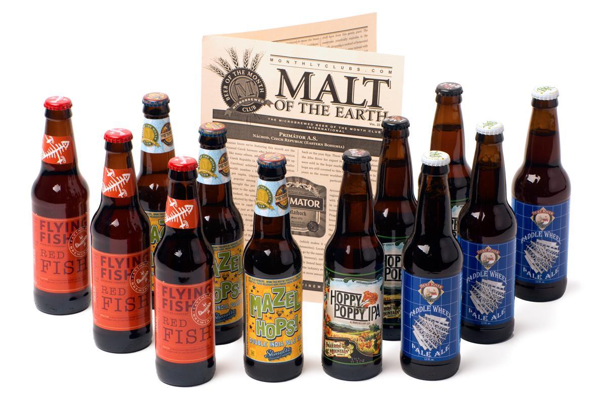 The U.S. Microbrewed Beer Club Beer and bottle opener