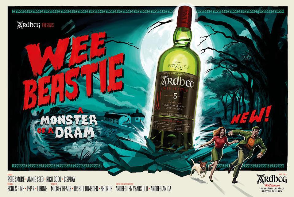 Ardbeg wee beastie whisky review scotch single malt
