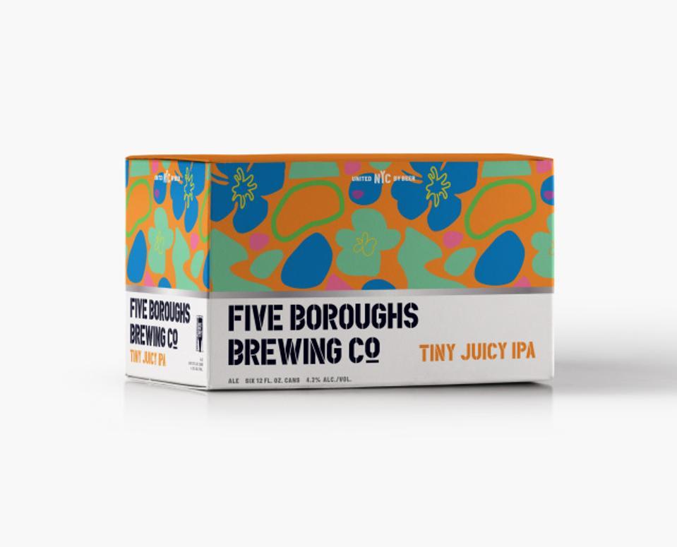 Five Boroughs Brewing Co. tiny juicy IPA