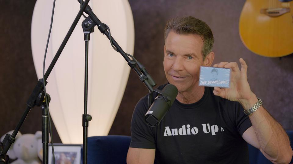 "Dennis Quaid has partnered with Audio Up, a content production studio and podcast network, with the goal to make ""entertainment for your ears."""