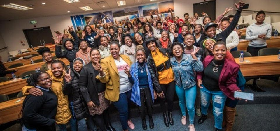 Pnk Codrs Launch in Cape Town at the Cape Peninsula University of Technology