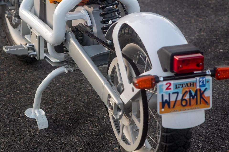 CAKE Ösa+ electric motorcycle
