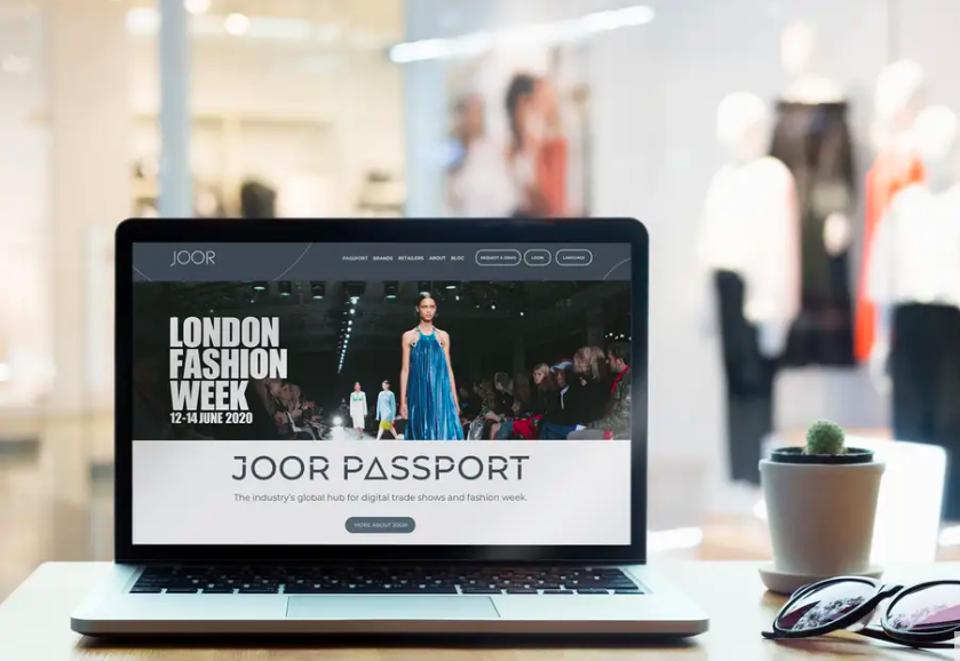 Joor Passport, a digital portal for buyers to access from anywhere.