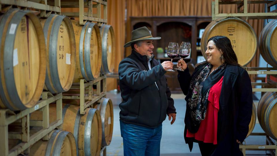 A protégé of some of California's famous winemakers, Rolando Herrera is an American dream success story