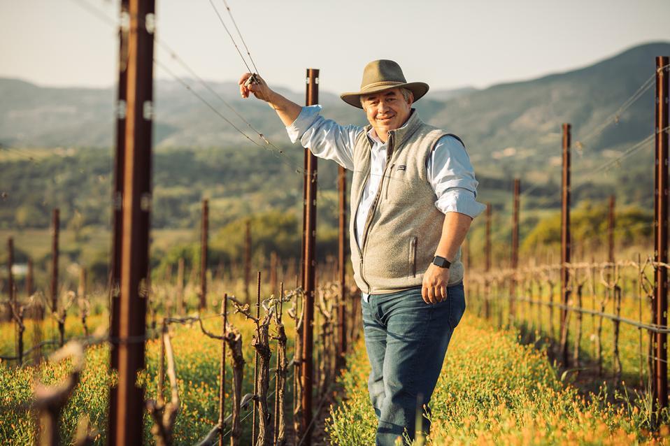 Rolando Herrera's ″dream″ came true in Napa Valley.