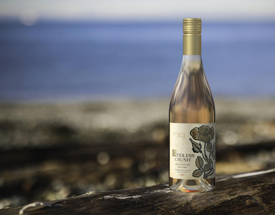 Inman Family Wines produces roses made from Pinot Noir in the Russian River Valley