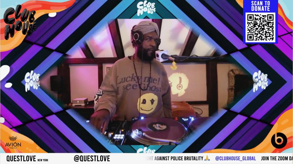 Questlove on Club House Global
