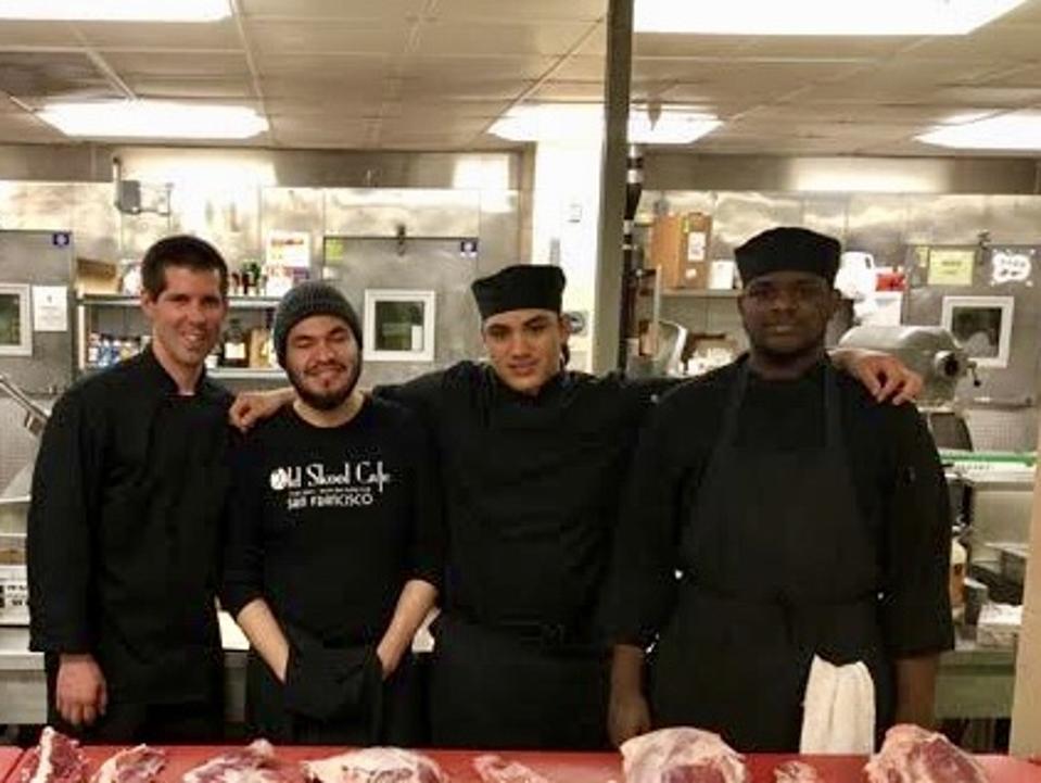 Old Skool Café chefs
