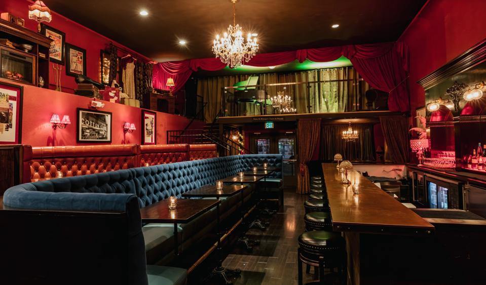 Old Skool Café interior