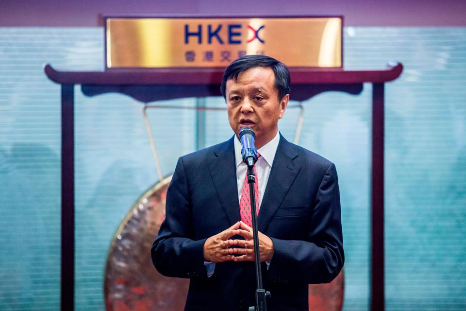 Hong Kong Stock Exchange Chief Executive Officer Charles Li